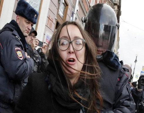روسيا: اعتقال عشرات المحتجّين على قمع الحكومة