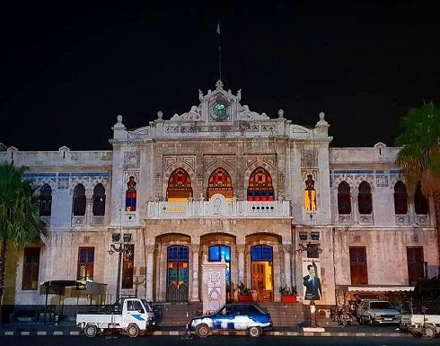 نظام الاسد يؤجر مبنى محطة القطار العثمانية لإيران لتحويلها لفندق .. صور