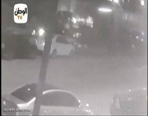 فيديو للحظة مقتل ضابط النزهة على يد مسلحين مجهولين بمصر
