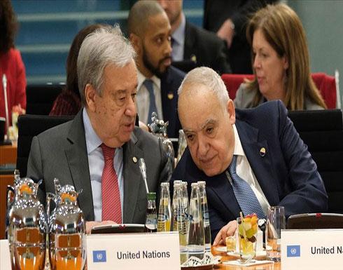 غوتيريش: أطراف برلين تعهدت بدعم وقف إطلاق النار في ليبيا