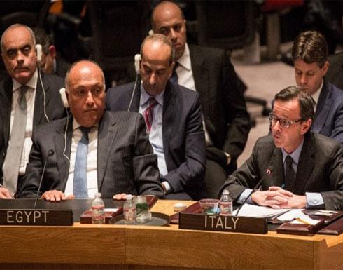 وزير الخارجية الإيطالي يلتقي نظيره المصري الخميس المقبل