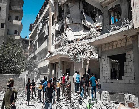 شاهد : ضحايا مدنيون في تواصل قصف النظام السوري ريف إدلب