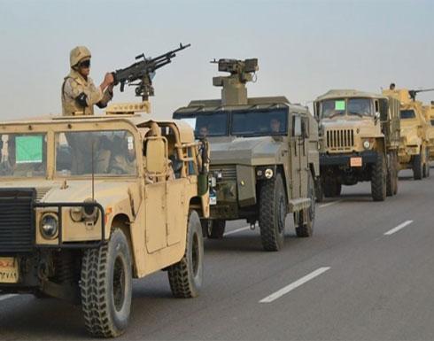 الجيش المصري يعلن حصيلة جديدة لعمليته العسكرية في سيناء
