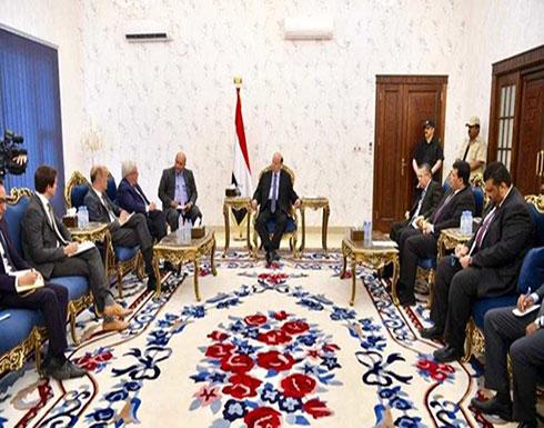 اليمن .. هادي يلتقي المبعوث الأممي ويدرس مقترحاته