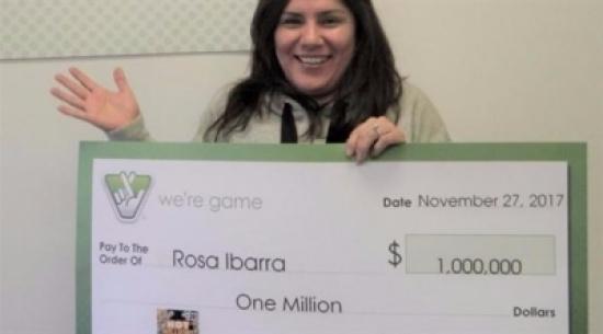 نظفت حقيبة زوجها فربحت مليون دولار في اليانصيب