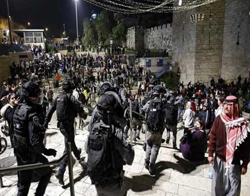 القدس العربية المحتلة.. اعتقال 6 فلسطينيين وإصابة شرطيتين إسرائيليتين