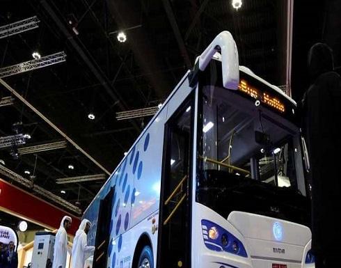 """""""مصدر"""" أبوظبي تدشن أول حافلة كهربائية في المنطقة"""