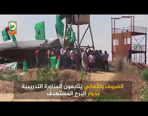 """فيديو..""""القسام"""" تكذّب مزاعم إسرائيل بشأن استهداف اثنين من عناصرها"""