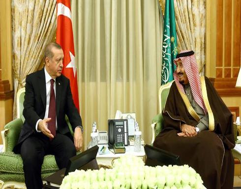 الملك سلمان وأردوغان يبحثان ملفات المنطقة