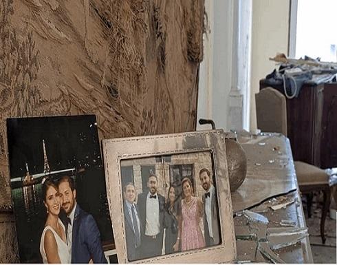 ممثلة أصيبت مع زوجها تنشر فيديو للحظات الأولى بعد انفجار بيروت