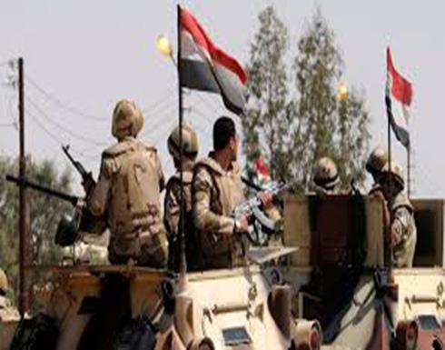 """الجيش المصري يعلن مقتل 5 """"تكفيريين"""" وسط سيناء"""