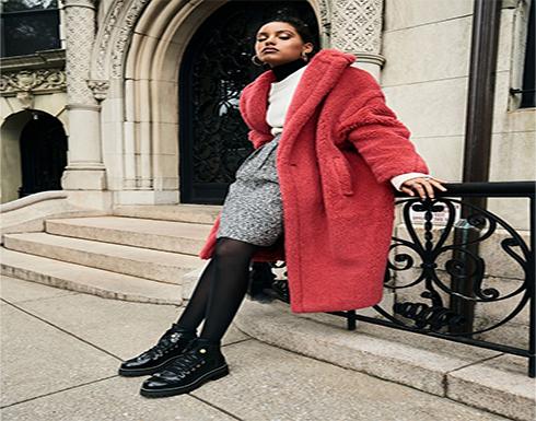 أحدث صيحات ارتداء الكوت فى فصل الشتاء بألوان مبهجة