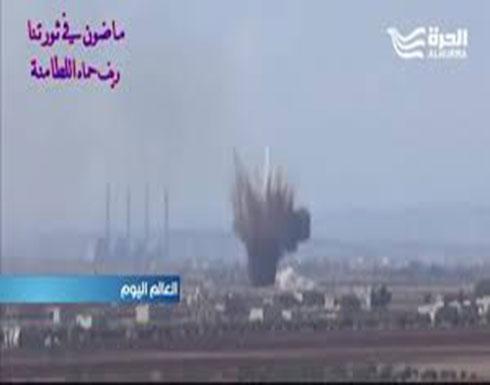 القصف الجوي على ريفي إدلب وحماه يتصاعد