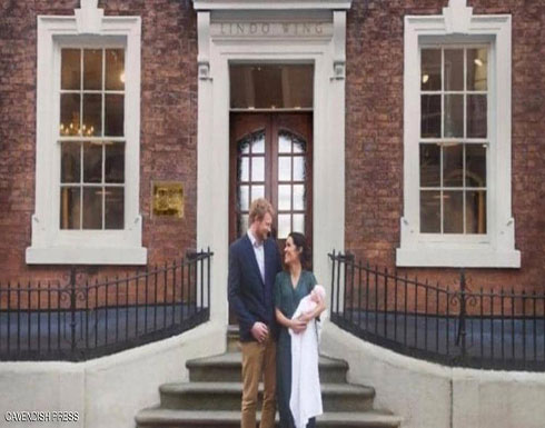 """""""هاري وميغان ومولودتهما"""" في صورة خدعت البريطانيين"""