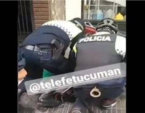 """""""جورج فلويد"""" جديد في الأرجنتين.. وفيديو يوثق المأساة .. شاهد"""