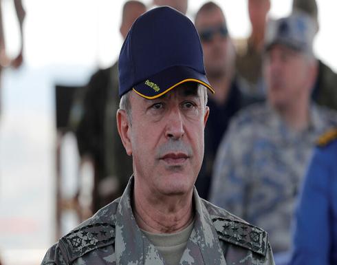 وزير الدفاع التركي: الاتفاقية الموقعة بين مصر واليونان تنتهك حقوق الشعب المصري وتفقده سلطته البحرية