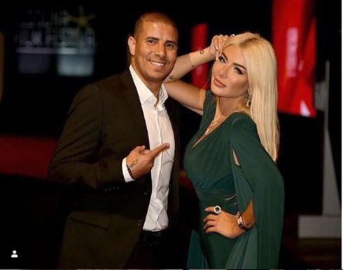 محمد زيدان وزوجته يخطفان الأنظار في الهالوين .. شاهد
