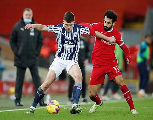 بالصور: ليفربول يفقد نقطتين أمام وست بروميتش