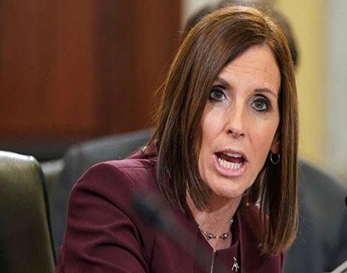 نائبة أمريكية تزعم أن ضابطا في سلاح الجو اغتصبها!