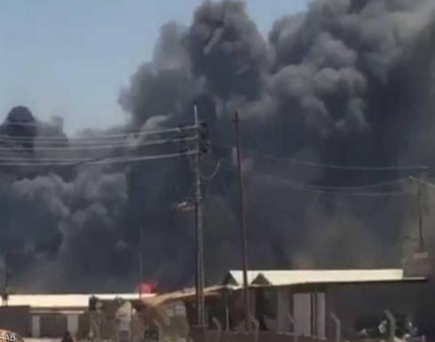 """انفجار ضخم يهز مقر """"الحشد الشعبي"""" بكربلاء"""