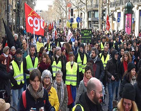60 مصابا وأعمال شغب بباريس بالجولة الـ18 للسترات الصفراء