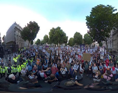 إحتجاجات متواصلة في لندن وارتفاع ضحايا الحريق إلى 88