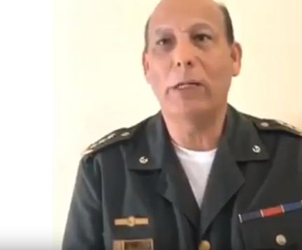شاهد ..  ضابط فنزويلي يعلن انشقاقه عن مادورو