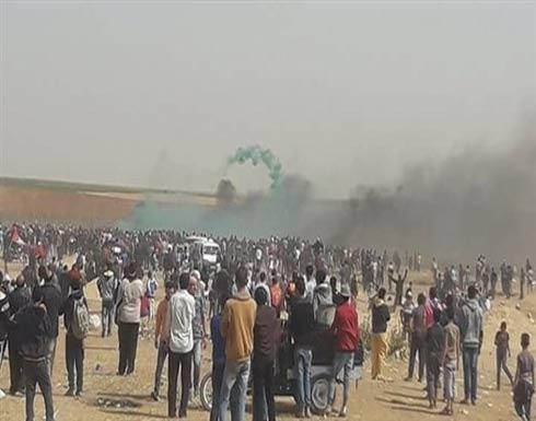 غزة: جيش الاحتلال يستخدم قنابل غاز مجهولة لأول مرة