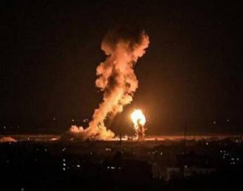 مدفعية الاحتلال تستهدف عدة مواقع شرق قطاع غزة