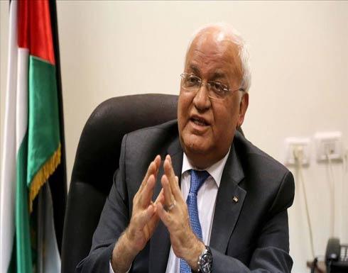 """عريقات: إسرائيل تفرض نظام """"الأبارتايد"""" على العمال الفلسطينيين"""