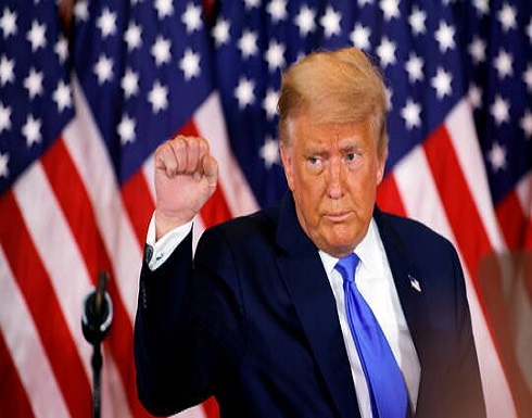 """ترامب يعلن عن """"انتصار كبير"""" في بنسلفانيا"""