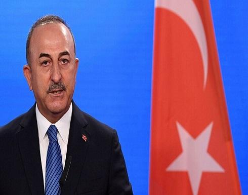 بعد أشهر من التوتر.. وزير الخارجية التركي يزور فرنسا