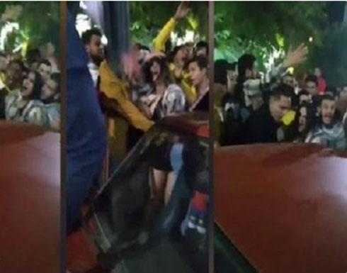 شاهد: فيديوهات جديدة توضح بداية واقعة التحرش بفتاة المنصورة في مصر