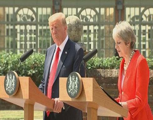 ترمب مغازلا البريطانيين: جاهزون لاتفاق تجاري ضخم