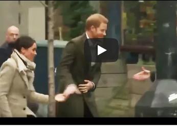 بالفيديو: ماذا يفعل الأمير هاري بخطيبته أمام العدسات؟