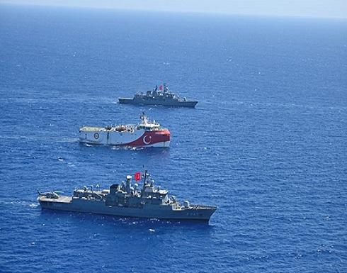 """تركيا تمدد مهام """"أوروتش رئيس"""" بـ""""المتوسط"""".. وتحركات يونانية"""