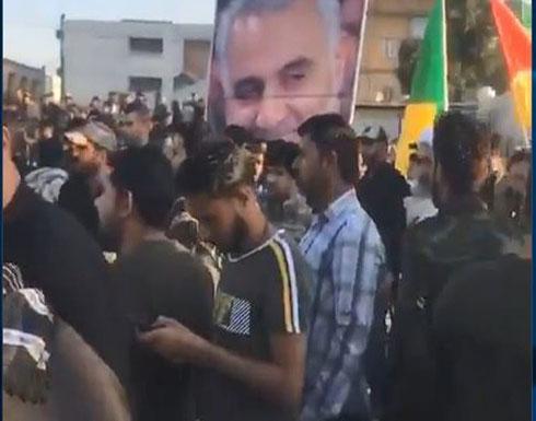 عناصر حزب الله العراقي تقتحم ساحة التظاهر بالبصرة