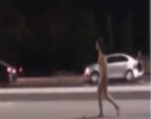 """""""جنون كورونا"""".. يجري عاريًا في الشارع ويعض امرأة حتى الموت"""