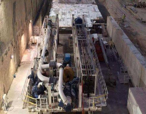 بالصور: النيل يصل اسرائيل