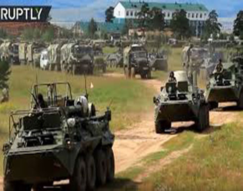 """""""الشرق-2018"""".. انطلاق أكبر مناورات عسكرية في تاريخ روسيا الحديث"""