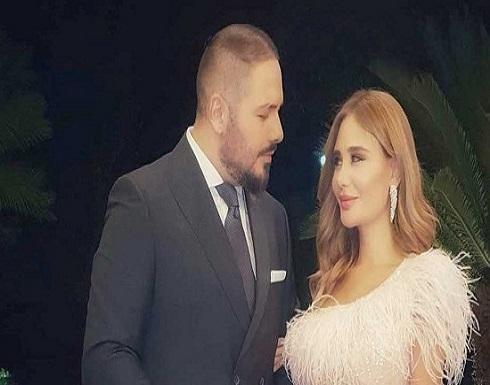بالصورة : هكذا عايدت داليدا عياش زوجها رامي عياش بمناسبة عيد ميلاده