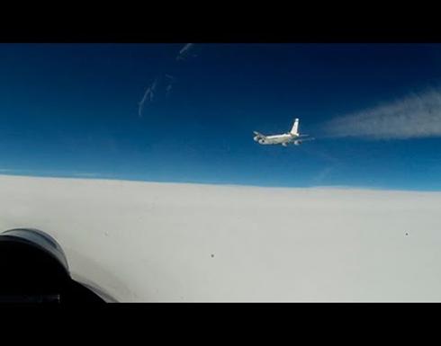 مقاتلة روسية تعترض طائرتي استطلاع أجنبيتين فوق بحر البلطيق .. بالفيديو