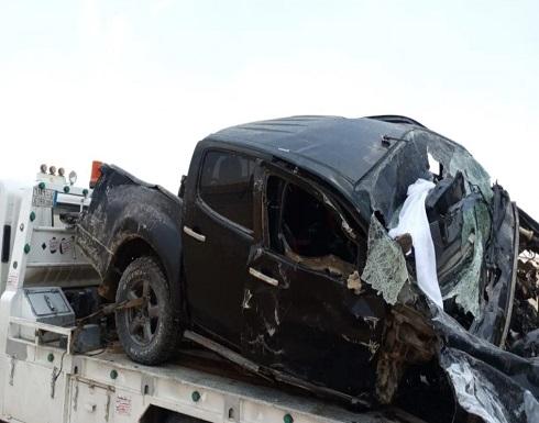 فاجعة في أول أيام العيد.. وفاة 8 من عائلة واحدة بحادث في السعودية