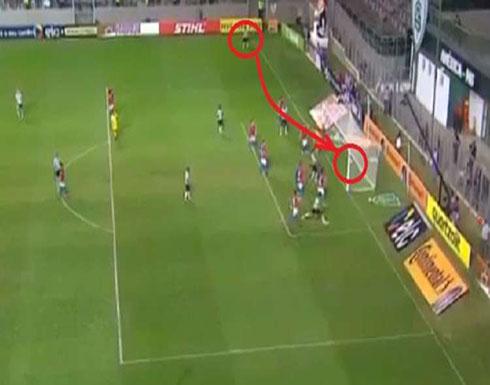 فيديو .. هدف برازيلي من ركله زاوية مباشرة