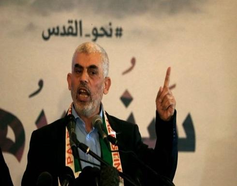 """""""حماس"""" تعلن إصابة قائدها في غزة يحيى السنوار بفيروس كورونا"""