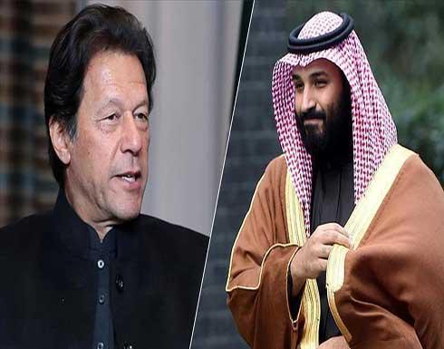 ولي العهد السعودي ورئيس وزراء باكستان يبحثان تطورات أفغانستان