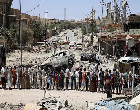 """الأمم المتحدة: """"100"""" ألف مدني محاصرين في الموصل"""