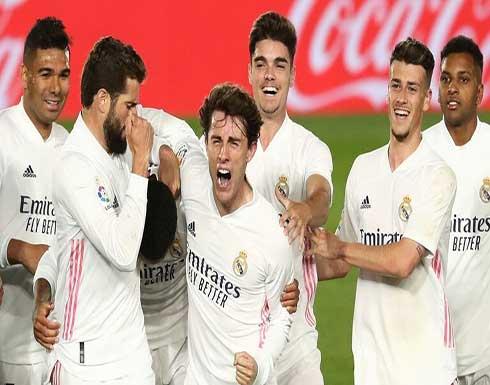 جماهير ريال مدريد يتنفسون الصعداء مع نهاية مواجهة أوساسونا (فيديو)