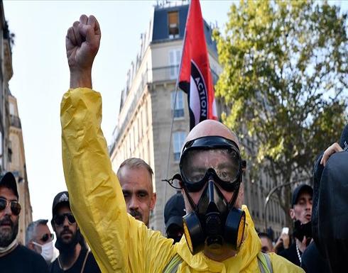مظاهرة للسترات الصفراء في باريس .. شاهد