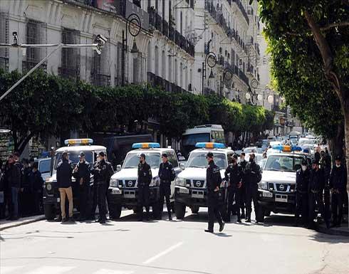 شاهد : صدامات بين الشرطة وأفراد الحماية المدنية وسط الجزائر